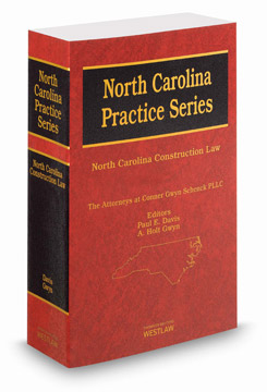 North Carolina Construction Law Treatise